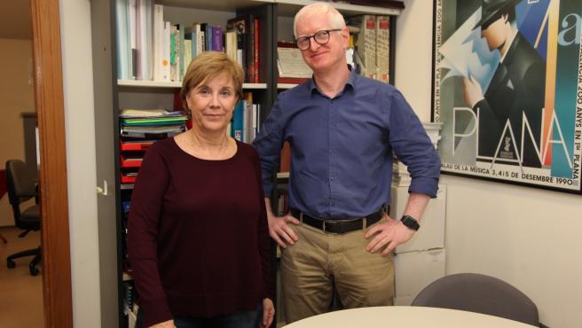 Los investigadores del Grupo en Comunicación y Discapacidad (GIDYC) de la Universidad CEU Cardenal Herrera (CEU UCH) Josep Solves e Inmaculada Rius