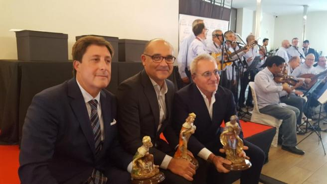 Los tres elegidos: Gómez-Reino, Palomar y Navarro.