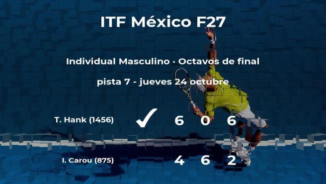 Tigre Hank estará en los cuartos de final del torneo de Cancún