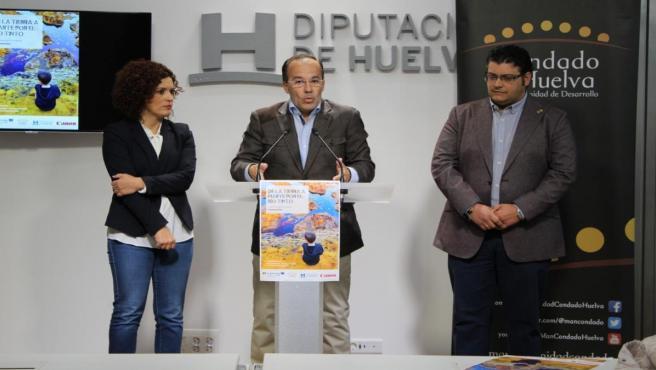 El presidente de la Mancomunidad del Condado de Huelva, Miguel Ángel Curiel.