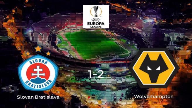 El Wolverhampton Wanderers gana al Slovan Bratislava por 1-2