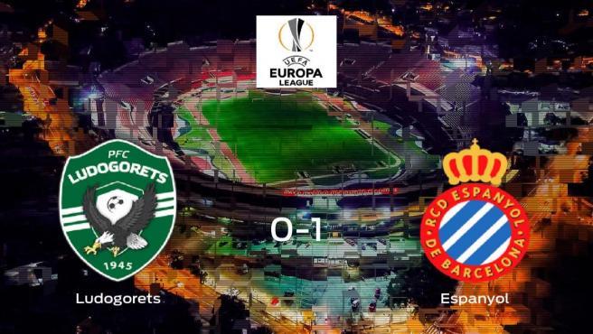 El Espanyol se lleva el triunfo tras vencer 0-1 al Razgrad