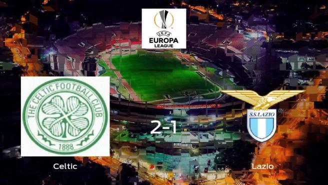 Triunfo del Celtic por 2-1 frente a la Lazio Roma