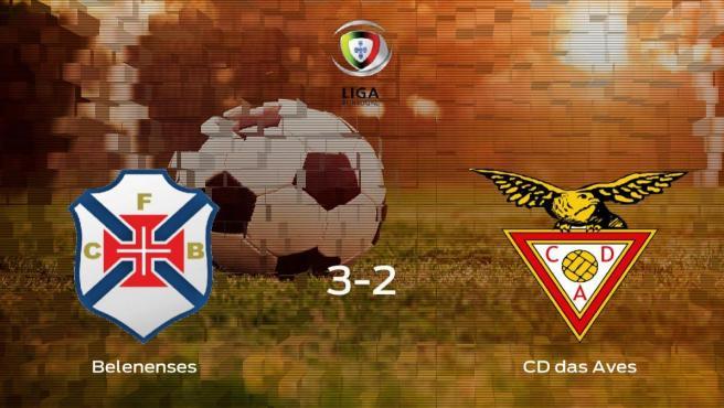 Tres puntos para el equipo local: Belenenses 3-2 CD das Aves