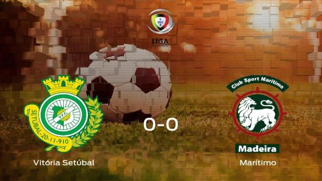 El Vitória Setúbal y el Marítimo empatan y suman un punto a su casillero (0-0)