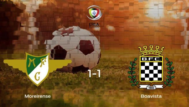 El Moreirense y el Boavista se reparten los puntos tras su empate a uno