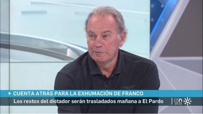 Bertín Osborne comenta la actualidad en 'Buenos días, Andalucía' de Canal Sur.