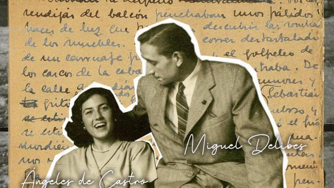 Cartel de 'La X de Max', documental sobre la historia de amor de Miguel Delibes y Ángela de Castro.
