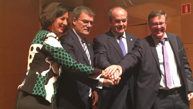 Firma del compromiso sostenible en Bilbao