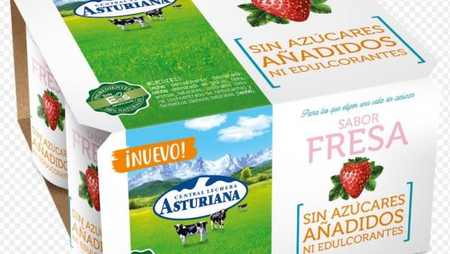 Nuevos yogures de Central Lechera Asturiana
