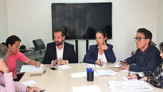 Reunión entre administraciones y el Círculo de Bellas Artes de Santa Cruz de Tenerife