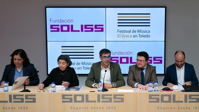 Rueda de prensa balance del Festival de Música el Greco de Toledo