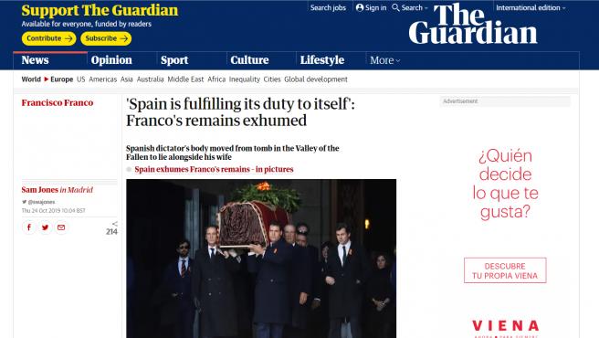 Titular de The Guardian.