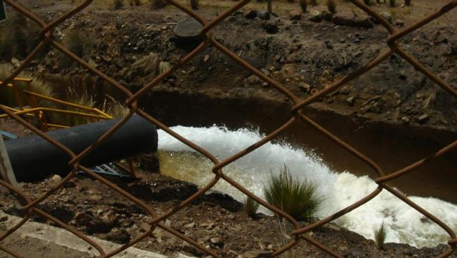 Imagen de aguas residuales.