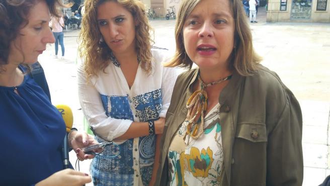 Anabel Santiago y Ana Taboada.