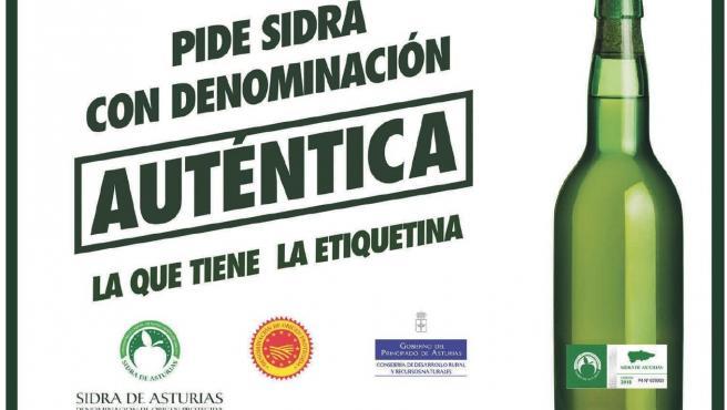 Campaña de promoción de la Denominación de Origen Protegida (DOP) 'Sidra de Asturias'