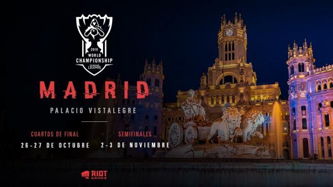 La celebración de dos de las fases del campeonato será en Madrid.