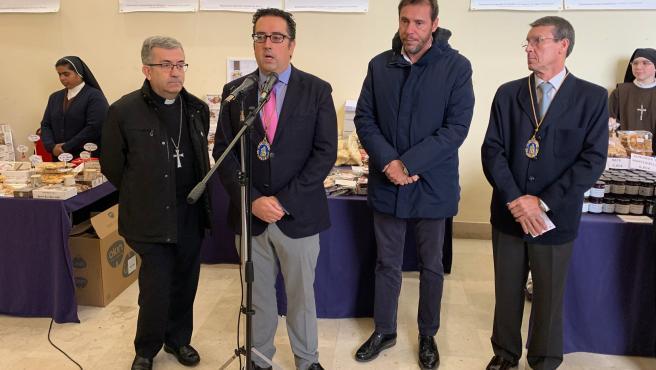 Inauguración de la feria Dulces Conventos en Valladolid.