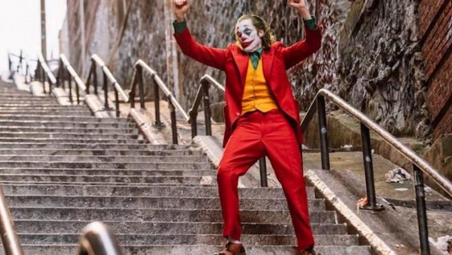 Dejad de sacaros fotos en las escaleras de 'Joker', haced el favor