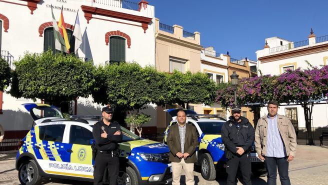La Algaba contará con dos nuevos vehículos para la Policía Local.