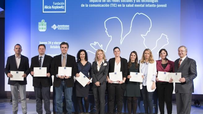 La Fundación Alicia Koplowitz entrega 400.000 euros en ayudas a ocho proyectos de investigación en España