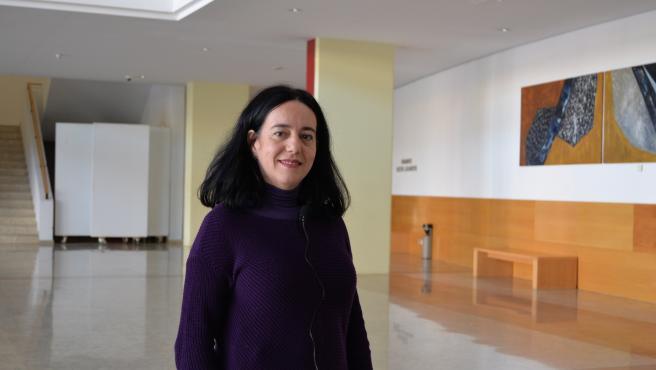 La profesora titular del área de física teórica en la Universidad de las Islas Baleares, Alicia Sintes.