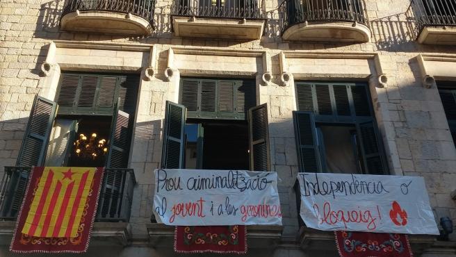 Ocupación del Ayuntamiento de Girona