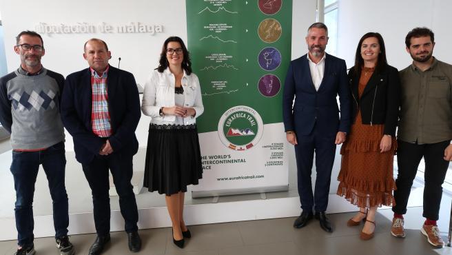 Presentación de la etapa de Euráfirca Trail a su paso por Málaga