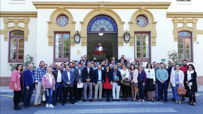 Reunión del consejo de alcaldes y alcaldesas del PSOE de Málaga