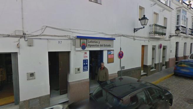 Administración de Loterías en Alcalá de los Gazules.