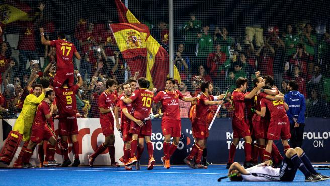 Selección española masculina de hockey hierba.