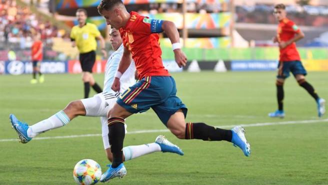 España debuta con empate a cero contra Argentina en el Mundial sub-17