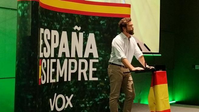 Espinosa de los Monteros (Vox) en una imagen de archivo