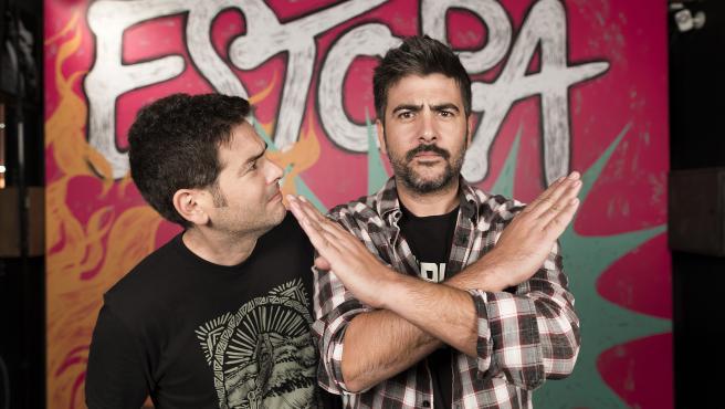 Los hermanos Jose y David Muñoz, Estopa.