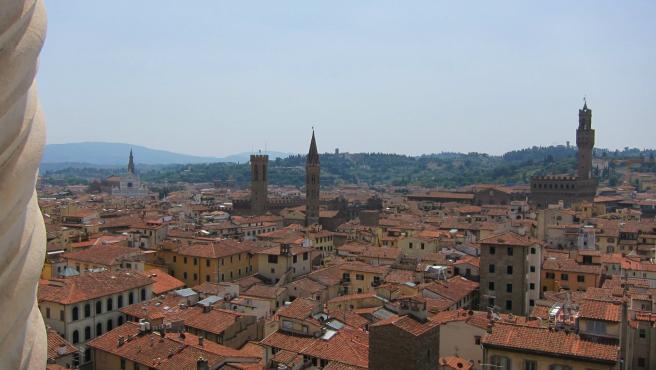 Florencia, ciudad, panorámica