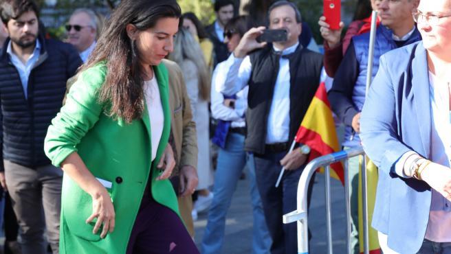 La portavoz de Vox en la Asamblea de Madrid, Rocío Monasterio. Imagen de archivo