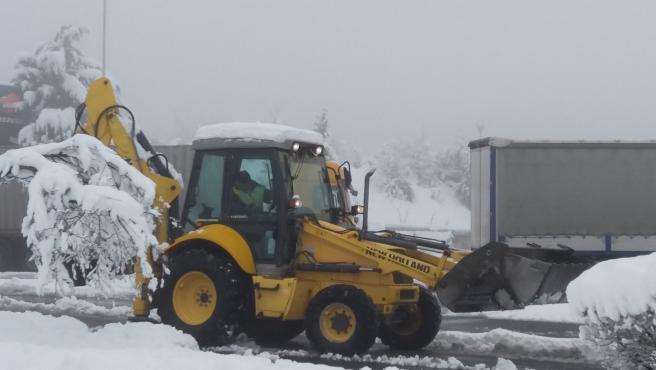 Nieve en Bizkaia