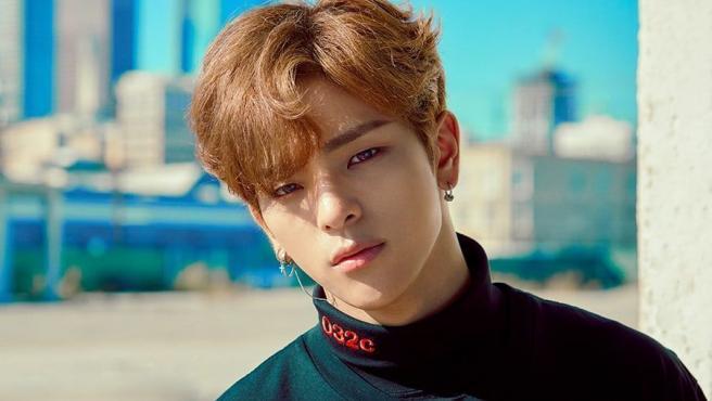 El cantante Woojin.