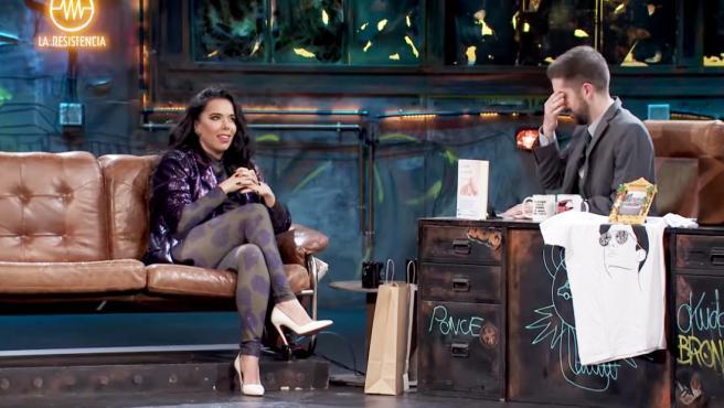 Beatriz Luengo y David Broncano, en 'La Resistencia'