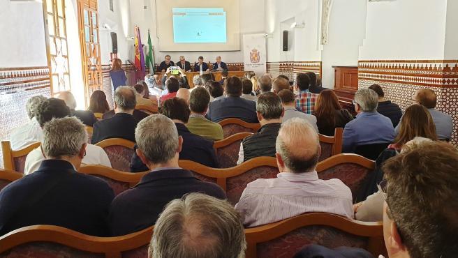 Celebración de las jornadas 'Plan de sequía para la cuenca del Guadalquivir' .