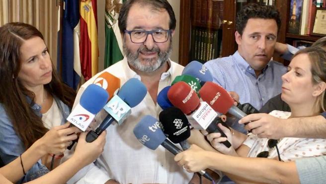 Declaraciones del alcalde de Carmona, Juan Ávila