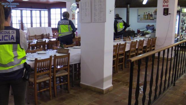 Detenidos tres encargados de un restaurante de Escorca