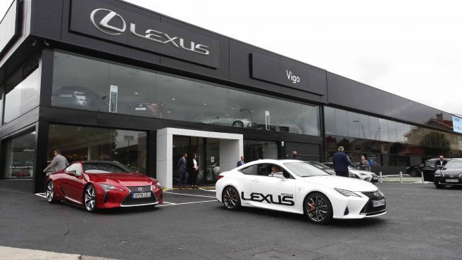 Inauguración nuevas instalaciones Lexus Vigo