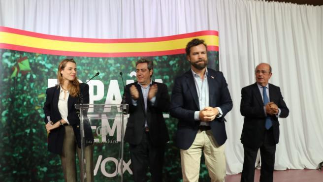 Iván Espinosa de los Monteros en un acto en Alboraia
