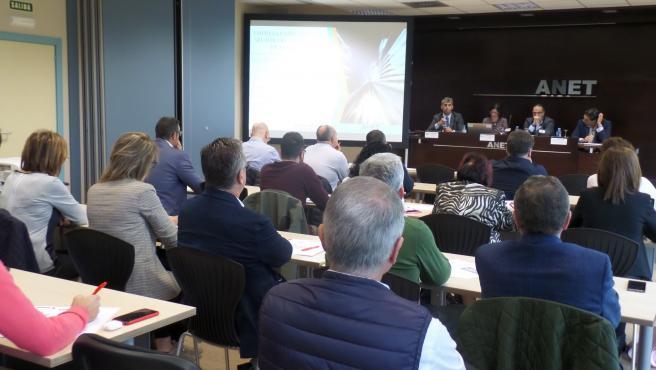 Jornada organizada por la Asociación Navarra de Empresarios de Transporte (ANET)