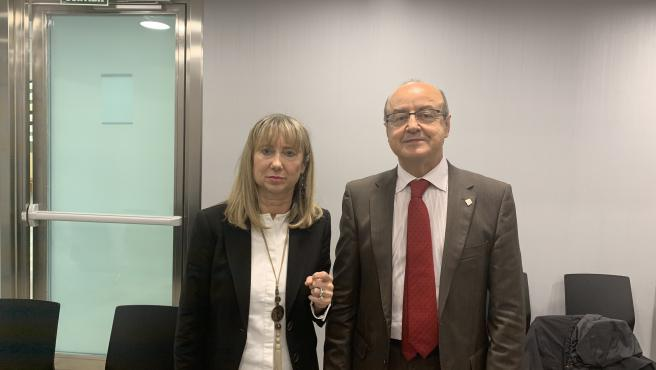 Maria Lucía Jiménez y Jesús María Barrientos (TSJC)