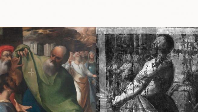 Pentecontés, cuadro de Franciscoe Herrera 'El Viejo' restaurado