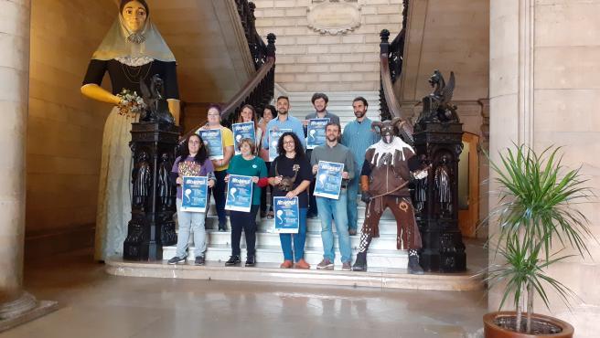 Presentación en el Ayuntamiento de Palma del programa de actividades que se celebrará con motivo de la 'Nit de les Ànimes'.