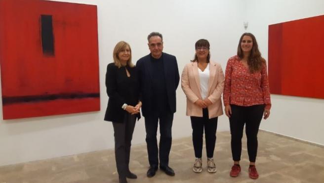 Presentación exposición 'Mateu Bauzà: vermell'
