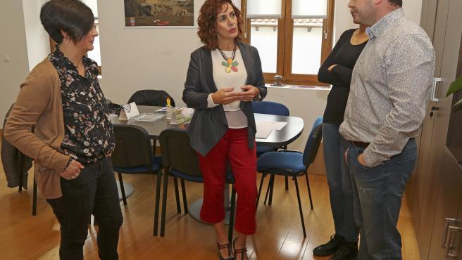 Ramales de la Victoria La consejera de Empleo y Políticas Sociales, Ana Belén Álvarez, realiza una visita institucional a este municipio. 29 OCTUBRE 2019